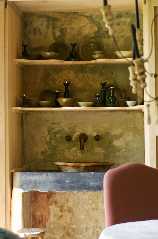 Weathered walls, antiques, and rustic beauty at The Little Monastery, a wonderful B&B near Bruges. Come enjoy photos and a tour of Belgian Design Style Inspiration from antiques dealers Alain and Brigitte Garnier.